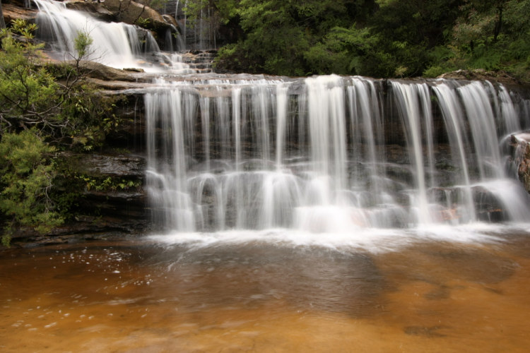 Wentworth Falls, Modré Hory (Blue Mountain)