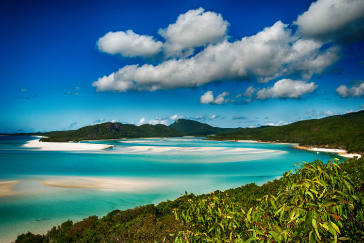 Whitehaven beach to sydney
